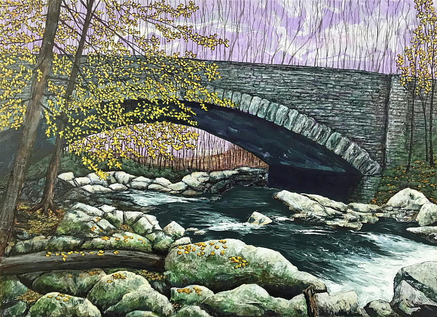 Bridge and Stream by Mr Dill
