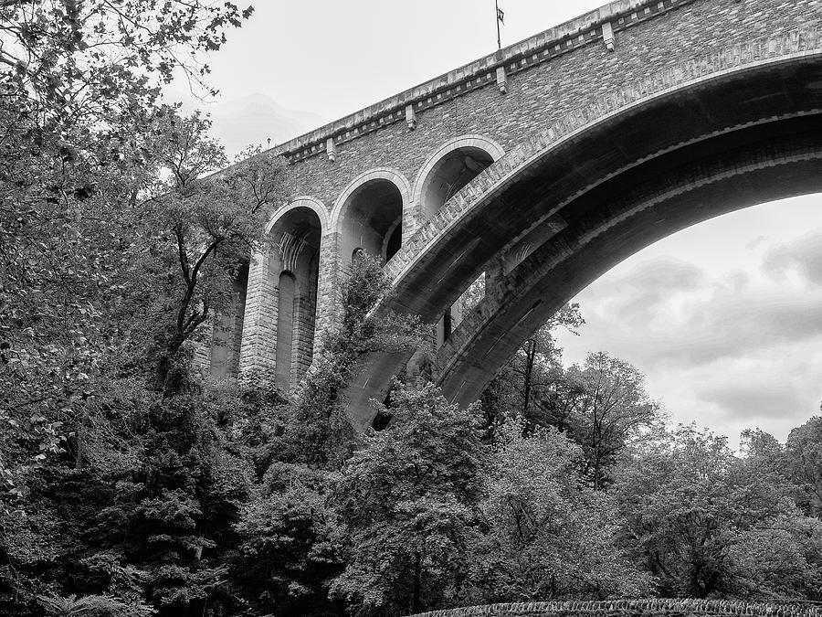 Bridge at Wissahickon Creek,  by Louis Dallara