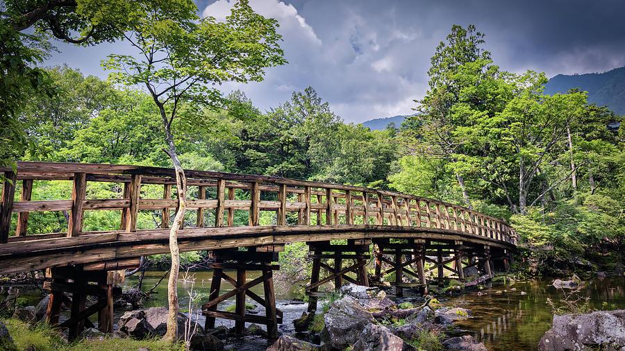 Bridge at Yunoko by William Chizek