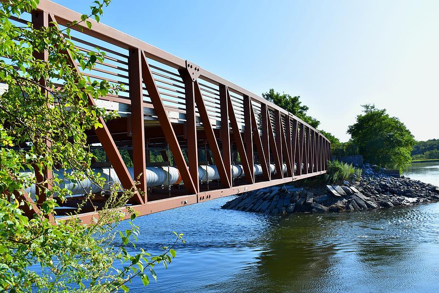 Bridge in Scarborough Marsh 1 by Nina Kindred