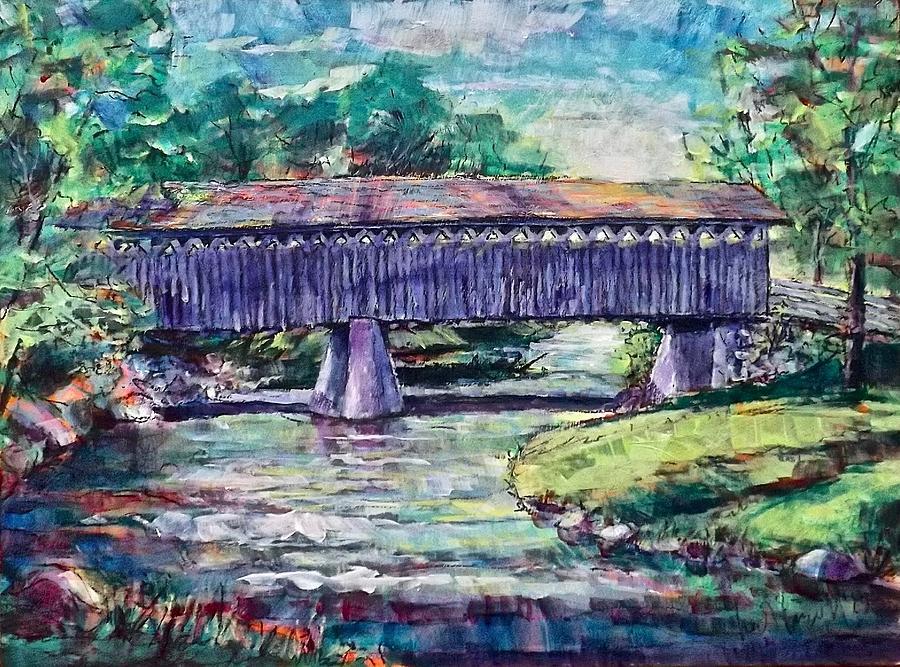 Bridge Light by Les Leffingwell