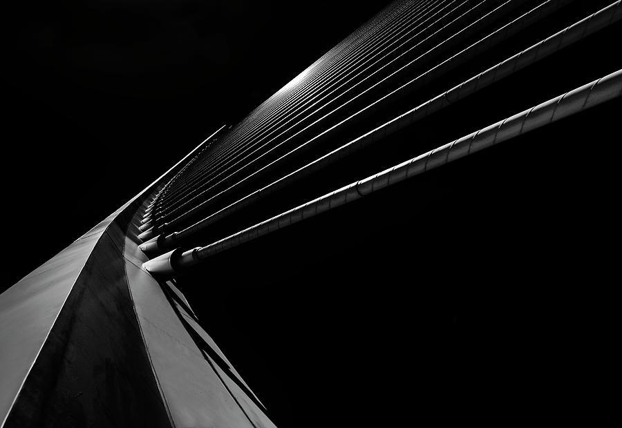 Bridge Lines Photograph by Gerard Jonkman