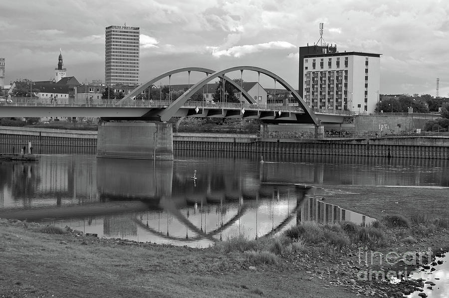 Bridge of Frankfurt/Oder by SILVA WISCHEROPP