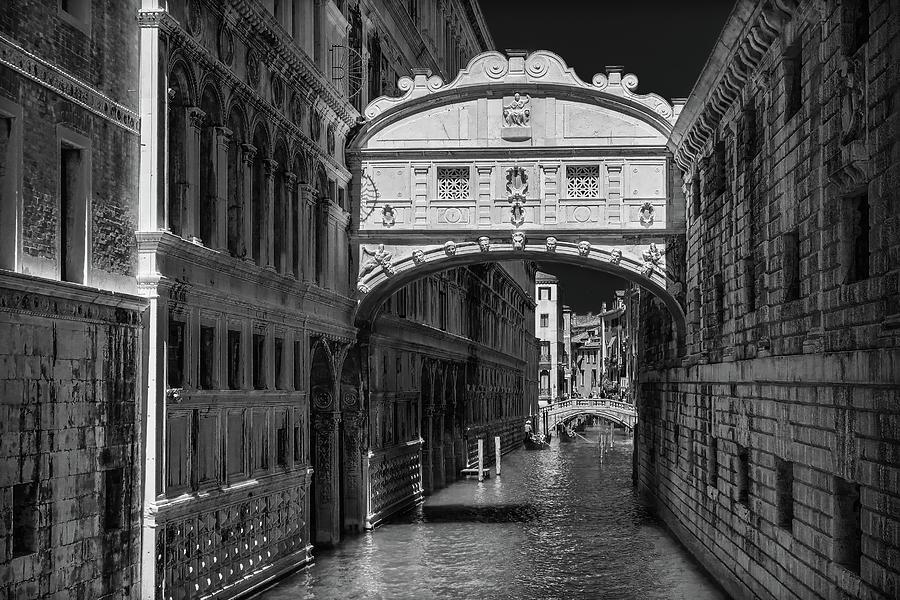 Bridge of Sighs Venice Italy by Robert Blandy Jr
