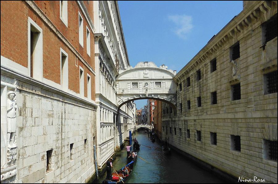 Bridge of Sighs - Venice by Nina-Rosa Duddy