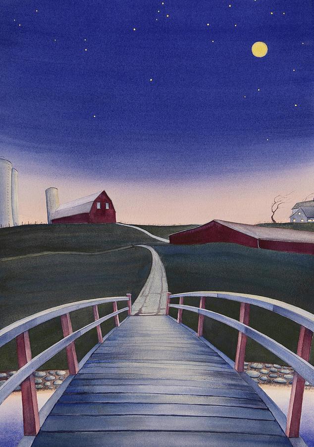 Bridge Over Buck Creek II by Scott Kirby