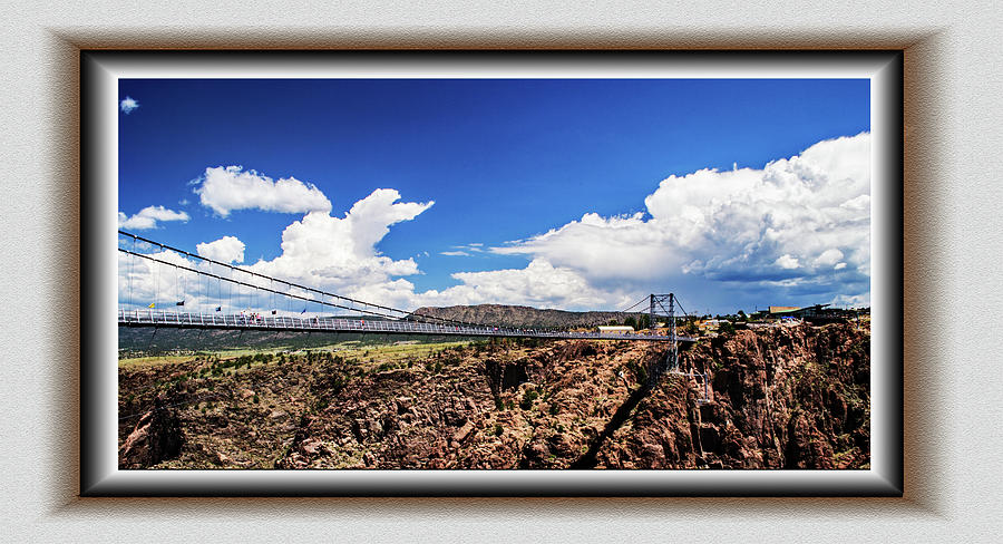 Bridge Over Royal Gorge by Richard Risely