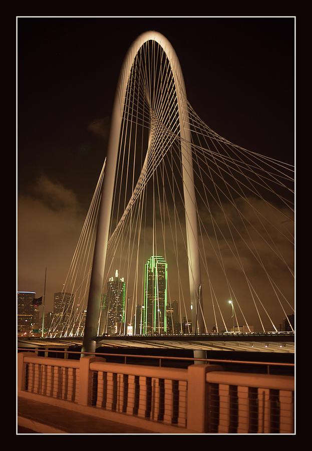 Dallas Photograph - Bridge to Downtown by Lea Rhea Photography