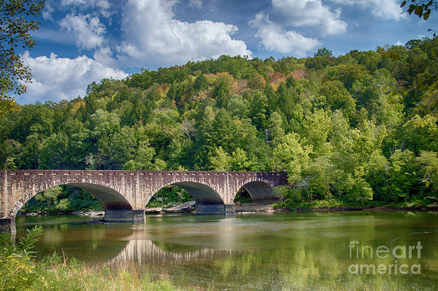 Bridge Reflections by Judy Hall-Folde