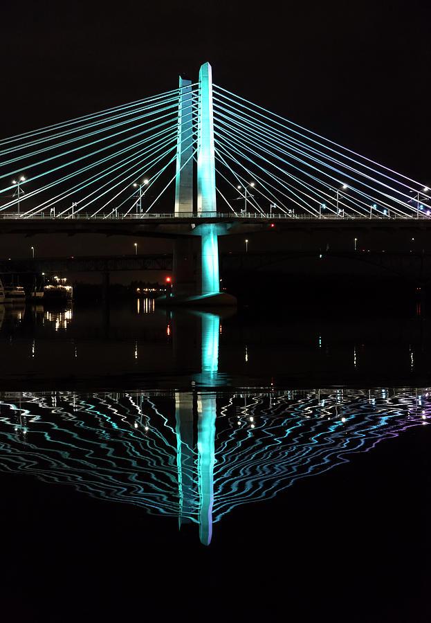 Bridge Reflections by Steven Clark