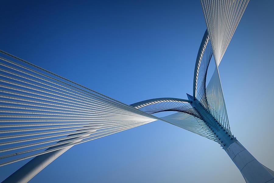 Bridge Photograph by Simonlong