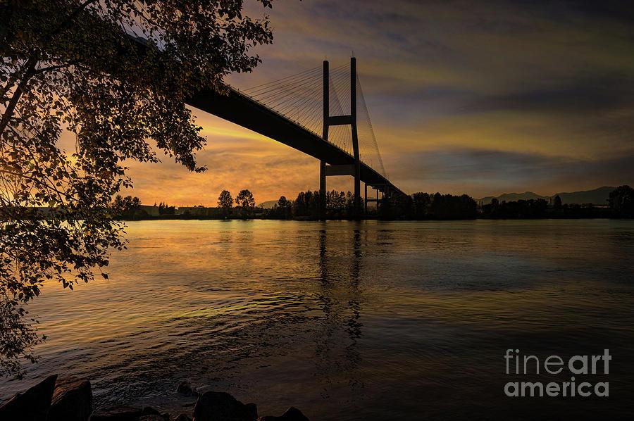 Bridge Sunset by Jim Hatch