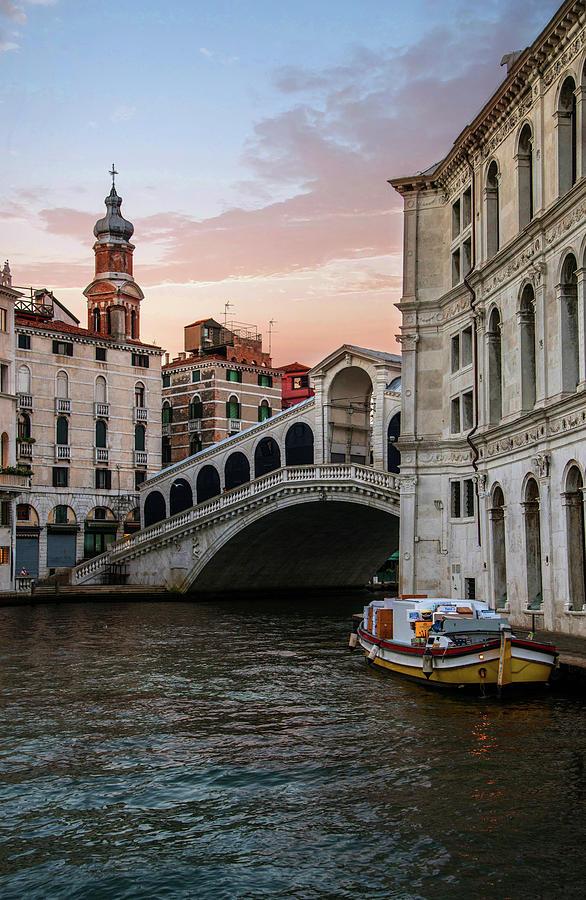 Venice Photograph - Bridges Of Venice - Rialto by Jaroslaw Blaminsky