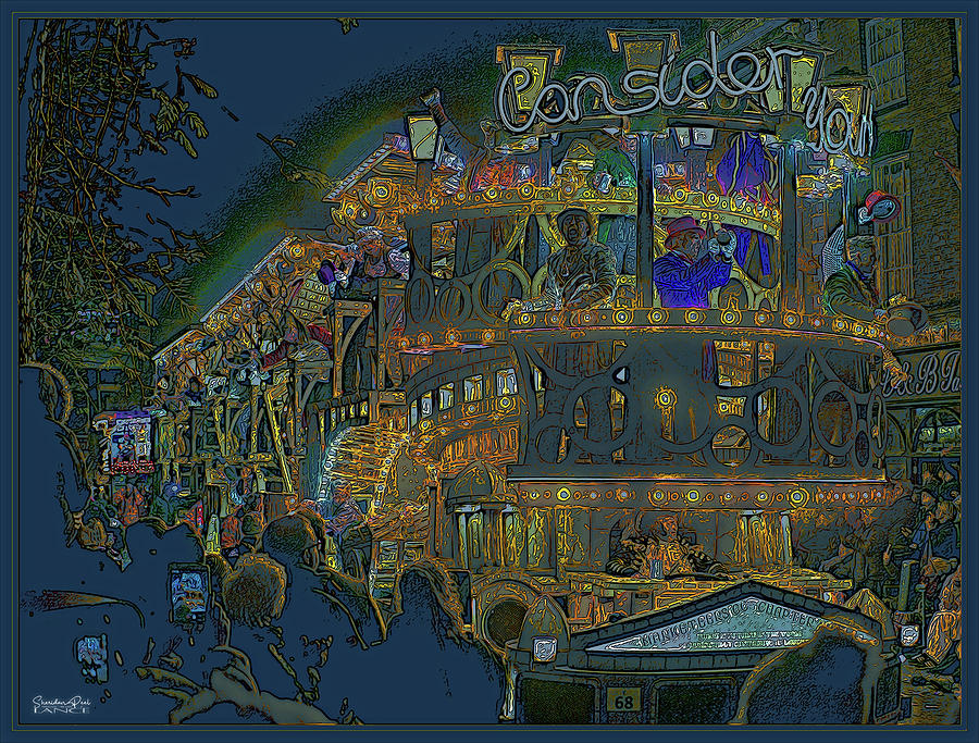 Bridgewater Carnival In Art by Lance Sheridan-Peel