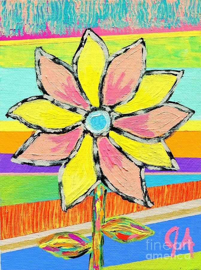 Bright Flower by Jeremy Aiyadurai
