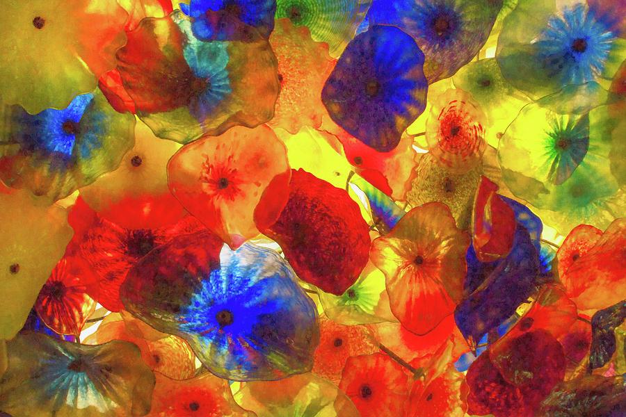 Bright Glass Flowers by Bonnie Follett