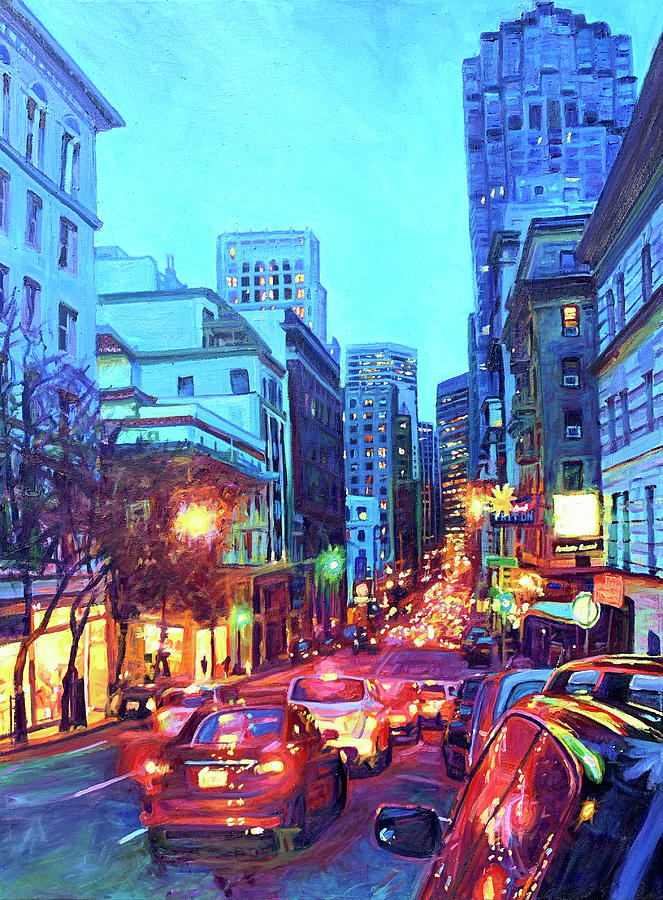 Bright Lights, Big City by Bonnie Lambert