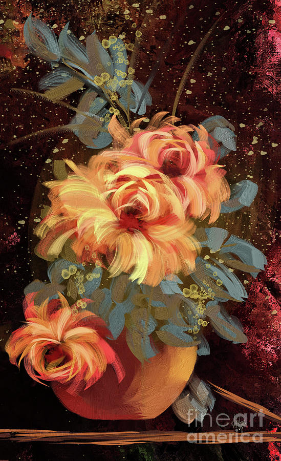 Bright Roses by Lois Bryan