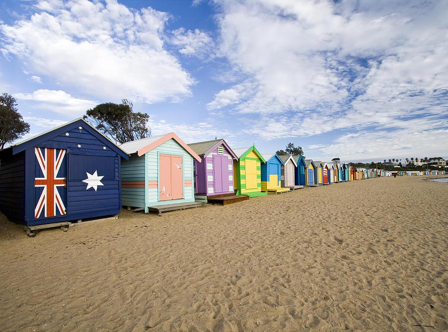 Brighton Beach Huts Photograph by Samvaltenbergs
