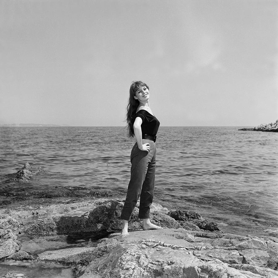 Brigitte Bardot At The Lerins Islands Photograph by Keystone-france