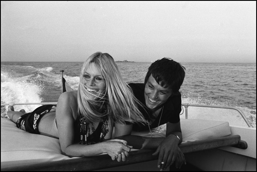 Brigitte Bardot In Saint Tropez, France Photograph by Jean-pierre Bonnotte