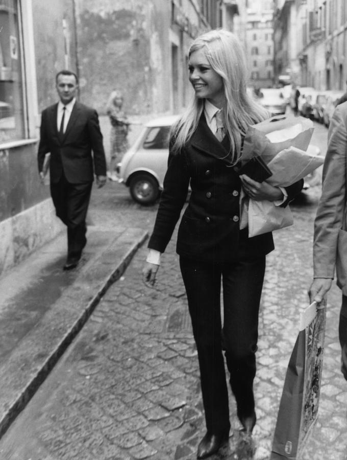 Brigitte Bardot Photograph by Keystone
