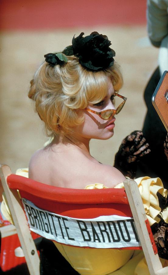 Brigitte Bardot Photograph by Loomis Dean