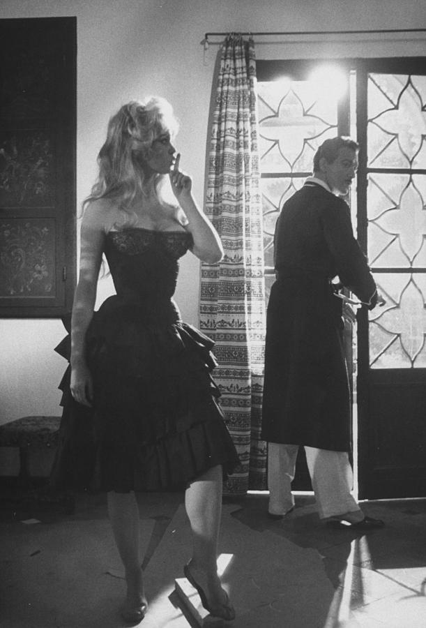 Brigitte Bardotantonio Vilar Photograph by Loomis Dean