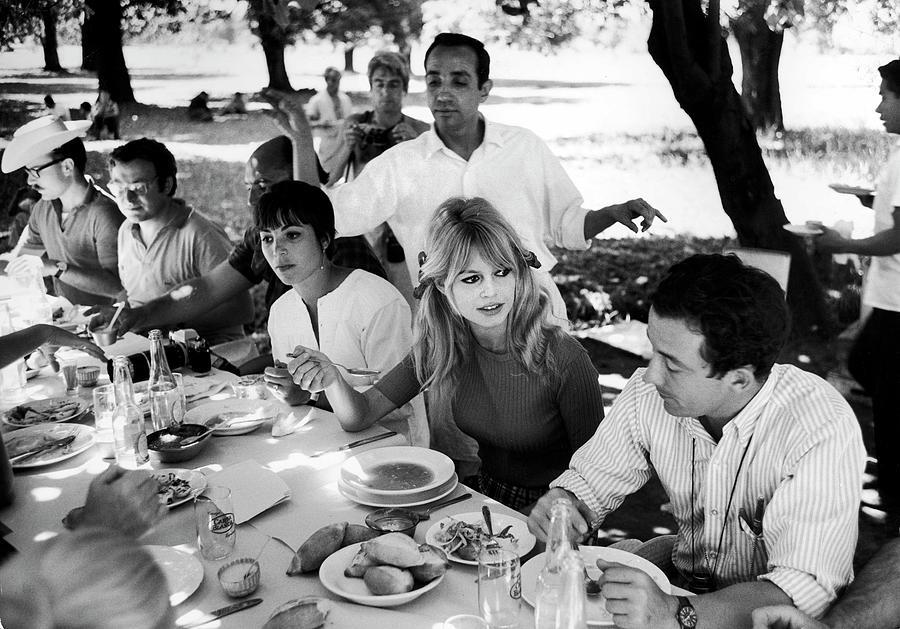 Brigitte Bardotlouis Malle Photograph by Ralph Crane