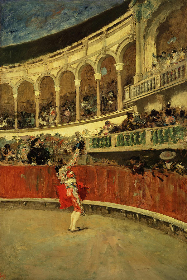 Mariano Fortuny Painting - Brindis Del Espada, The Bullfighters Salute, 1868 by Mariano Fortuny
