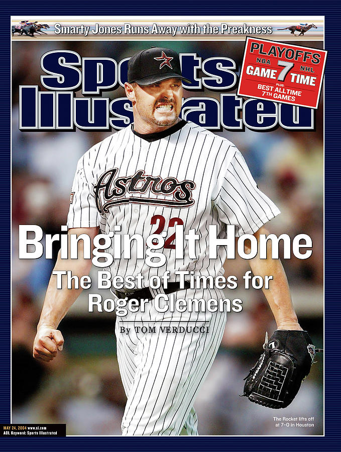 Bringing It Home The Best Of Times For Roger Clemens Sports Illustrated Cover Photograph by Sports Illustrated