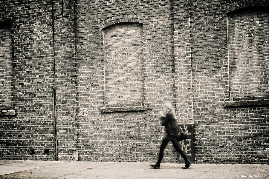 Brisk Walk thru Brooklyn by T-S Fine Art Landscape Photography