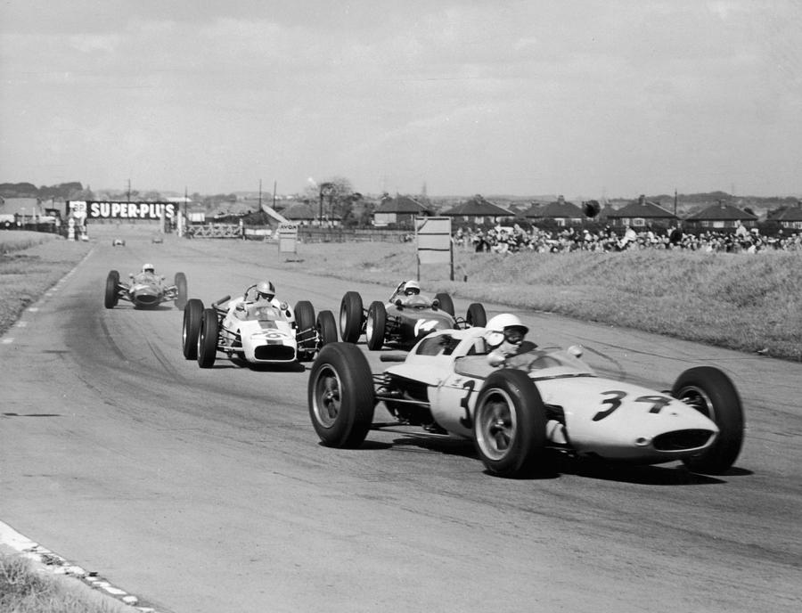British Grand Prix Photograph by Hulton Archive