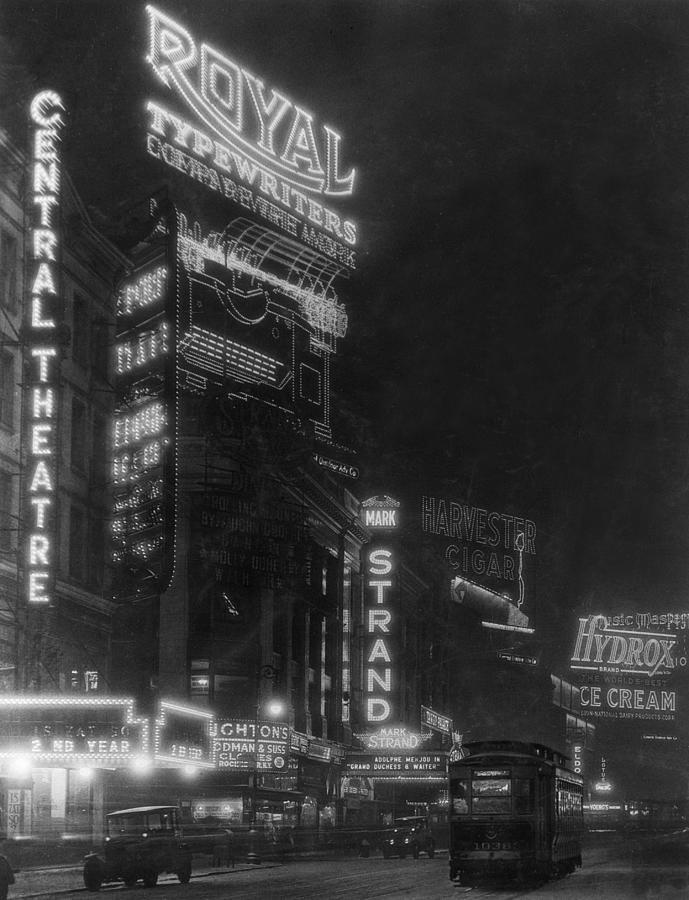 Broadway Photograph by Edwin Levick