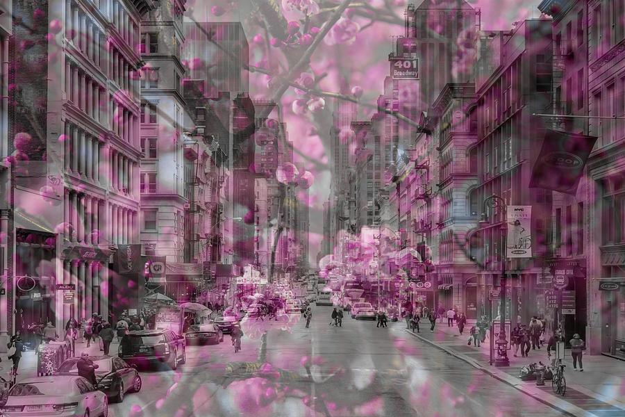 Broadway Floral by Az Jackson