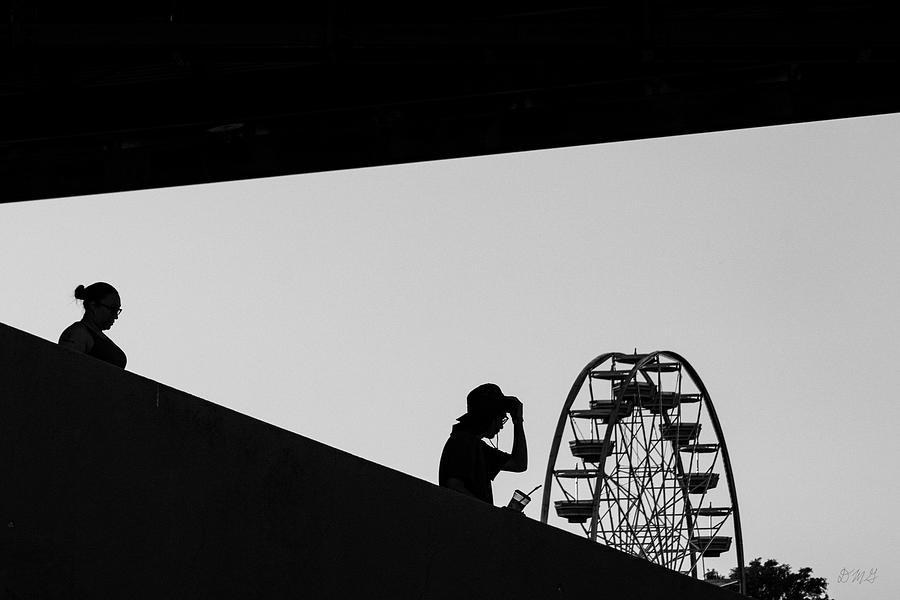 Brockton Fair I BW by David Gordon