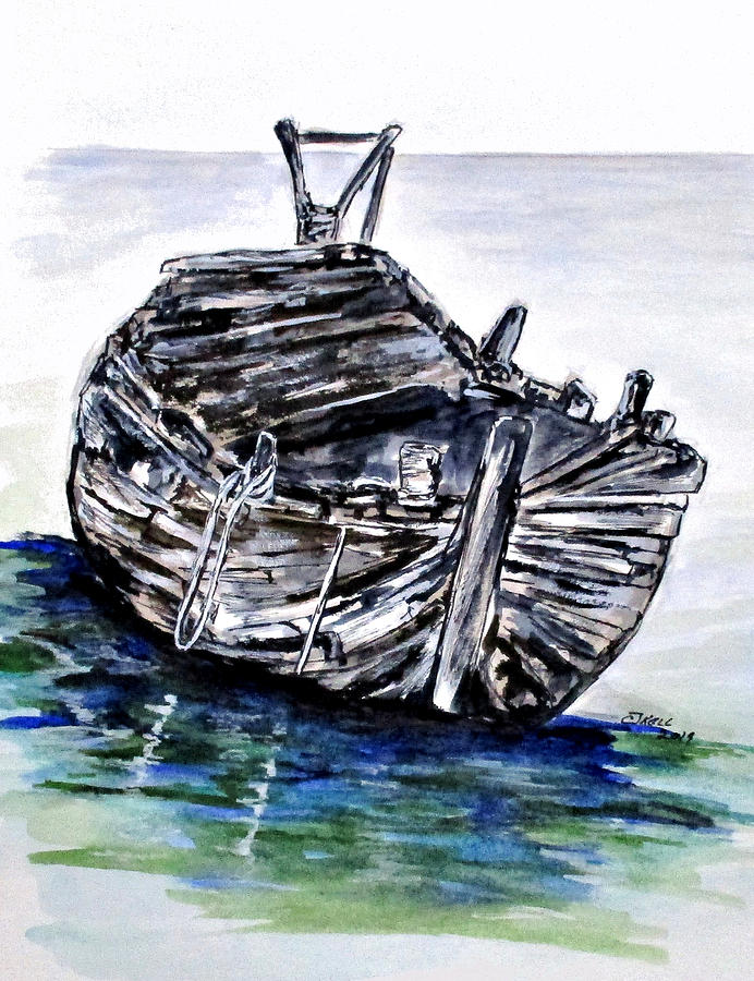 Broken But Afloat by Clyde J Kell