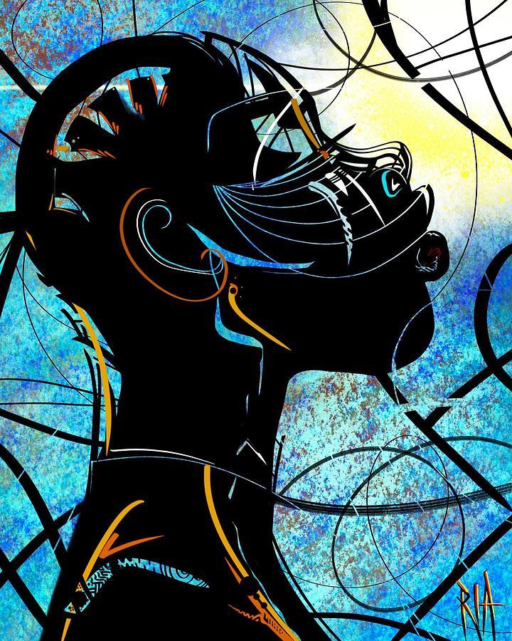 Broken But Still  Digital Art by Artist RiA