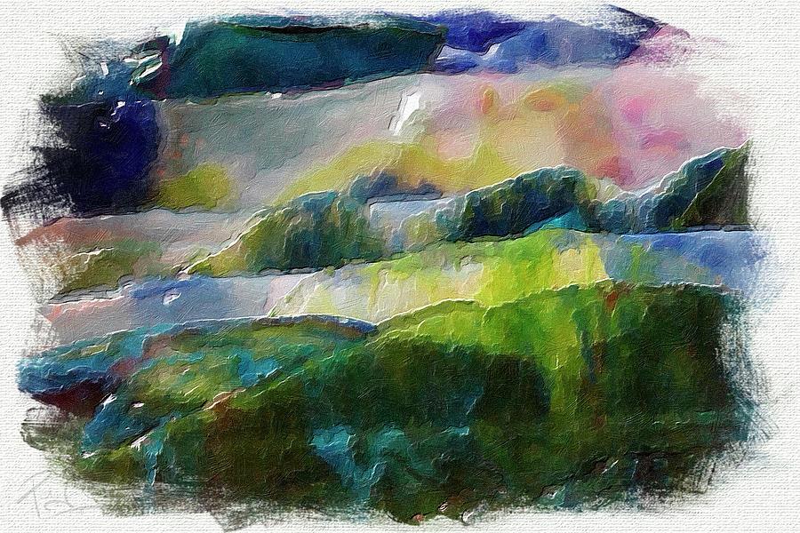 Broken Glass Landscape by Patrick Groleau