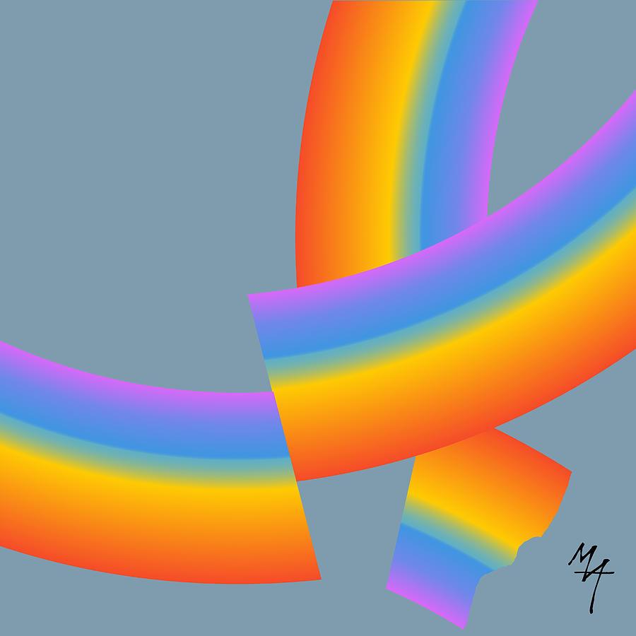 Broken Rainbow by Attila Meszlenyi
