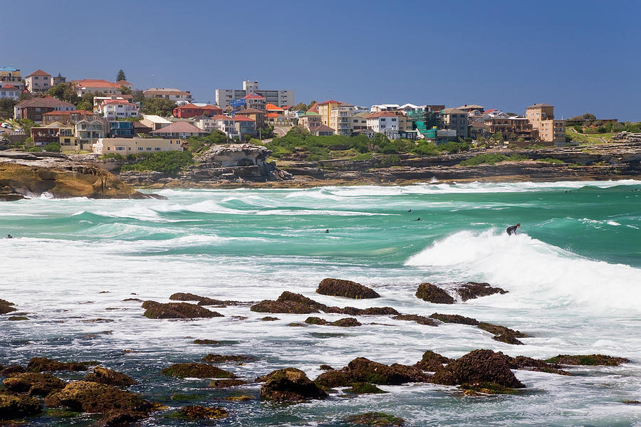 Bronte, Sydney, Australia Photograph by Peter Adams