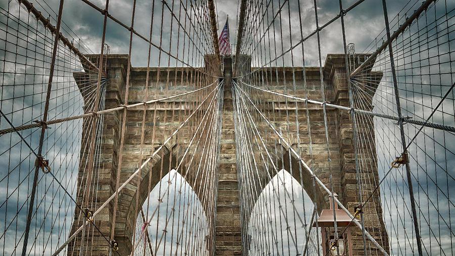 New York City Photograph - Brooklyn Bridge #2 by Stephen Stookey