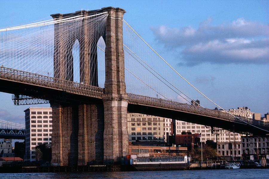 Brooklyn Bridge Photograph by Dick Luria