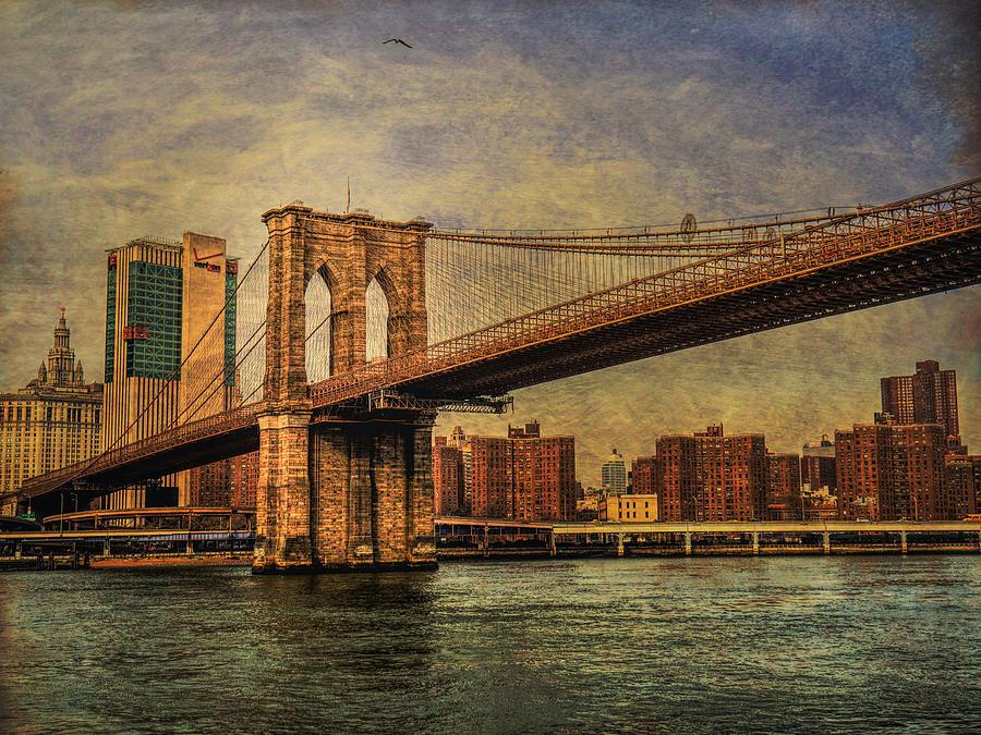 Brooklyn Bridge Photograph by Eduardo Llerandi