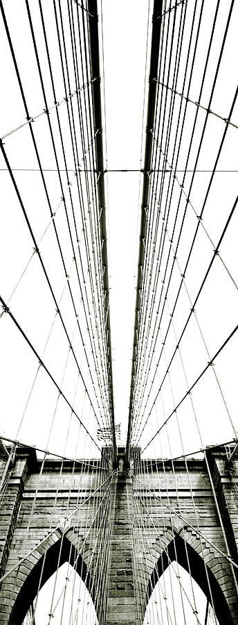 Brooklyn Bridge Photograph by Giuseppe Ceschi