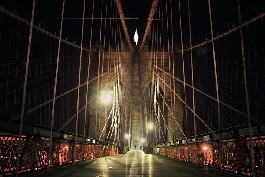 Brooklyn Bridge Photograph by Good Art Looks Pretty, Great Art Invokes Thought