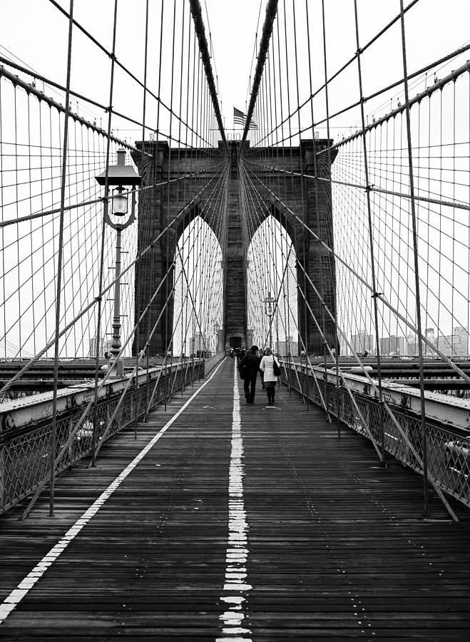 Brooklyn Bridge Photograph by Justinwaldingerphotography