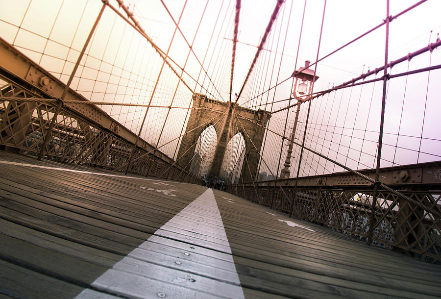 Brooklyn Photograph - Brooklyn Bridge, New York City by Nicklas Gustafsson