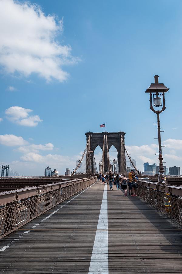 Brooklyn Bridge, New York by Michelle McConnell