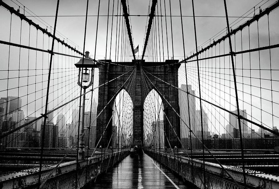 Brooklyn Bridge Photograph by Serhio.com Photography By Sergei Yahchybekov
